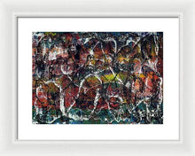 Load image into Gallery viewer, Framed Print, Gamma #16 Abstract Wall Art - Framed Print,Sensory Art House