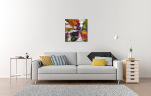 Canvas Print, Gamma #22 Abstract Wall Art - Canvas Print,Sensory Art House