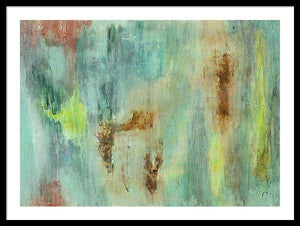 Framed Print, Gamma #44 Abstract Wall Art - Framed Print,Sensory Art House