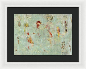 Framed Print, Gamma #50 Abstract Wall Art - Framed Print,Sensory Art House