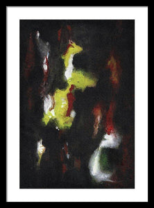 Framed Print, Gamma #60 Abstract Wall Art - Framed Print,Sensory Art House
