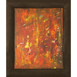 orange-abstract-Gamma 84 Abstract Wall Art Print