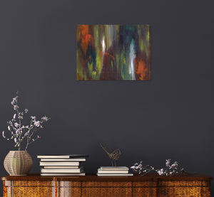 Canvas Print, Gamma #88 Abstract Wall Art - Canvas Print,Sensory Art House