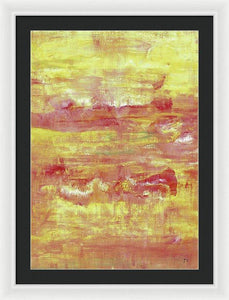 Framed Print, Gamma #96 Abstract Wall Art - Framed Print,Sensory Art House