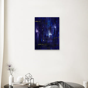 purple-abstract-Gamma 68 Abstract Wall Art Print