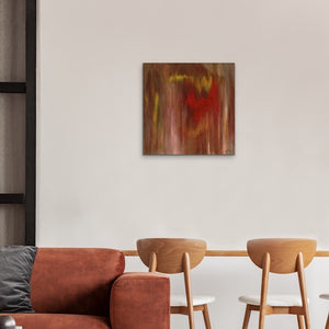 brown-abstract-art-Gamma 78 Abstract Wall Art Print-Sensory Art House