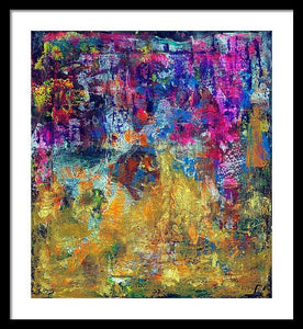 Framed Print, Gamma(γ) #10  - Premium Framed Print,Sensory Art House