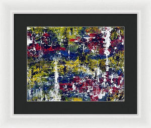 Framed Print, Gamma(γ) #19  - Premium Framed Print,Sensory Art House