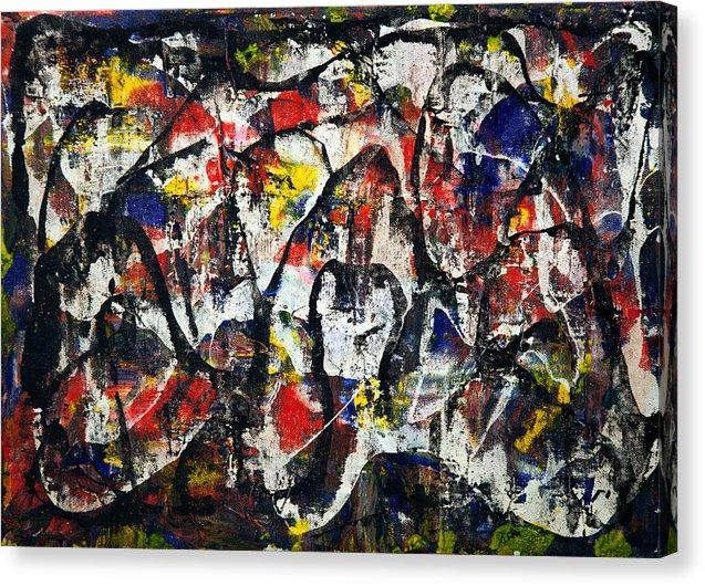 Canvas Print, Gamma(γ) #24  - Abstract Wall Art - Canvas Print,Sensory Art House