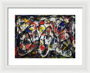 Framed Print, Gamma(γ) #24  - Premium Framed Print,Sensory Art House
