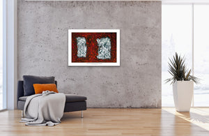 Canvas Print, Gamma(γ) #25  - Abstract Wall Art - Canvas Print,Sensory Art House