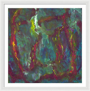 Framed Print, Gamma(γ) #29  - Premium Framed Print,Sensory Art House
