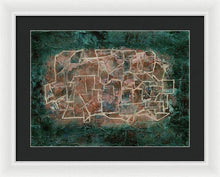 Load image into Gallery viewer, Framed Print, Gamma(γ) #45  - Premium Framed Print,Sensory Art House