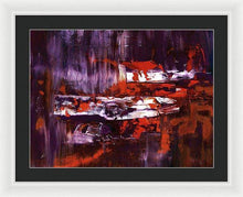 Load image into Gallery viewer, Framed Print, Gamma(γ) #66  - Premium Framed Print,Sensory Art House