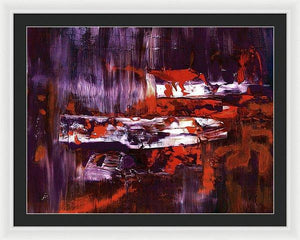 Framed Print, Gamma(γ) #66  - Premium Framed Print,Sensory Art House