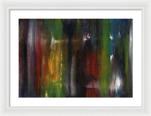 Framed Print, Gamma(γ) #70 - Premium Framed Print,Sensory Art House
