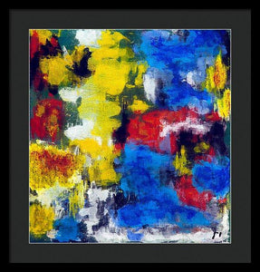Framed Print, Gamma(γ) #9  - Premium Framed Print,Sensory Art House