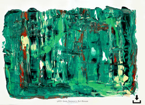 Print Ready Art Download, Gamma(γ)#51  Painting - Digital  Download,Sensory Art House