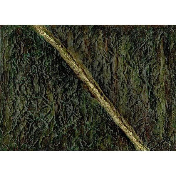 green-abstract-art-Beta 7 Abstract Wall Art Print-Sensory Art