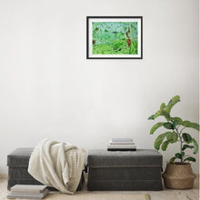Load image into Gallery viewer, green-abstract-art-Epsilon 17 Abstract Wall Art Print-Sensory Art