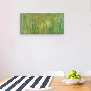 green-abstract-art-Gamma 112 Abstract Wall Art Print-Sensory Art