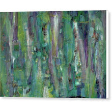 Load image into Gallery viewer, purple-abstract-Gamma 122 Abstract Wall Art - Canvas Print
