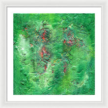 Load image into Gallery viewer, green-abstract-art-Gamma 134 Abstract - Framed Print-Sensory Art