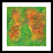 Load image into Gallery viewer, green-abstract-art-Gamma 136 Abstract - Framed Print-Sensory Art