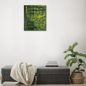 green-abstract-art-Gamma 2 Abstract Wall Art Print-Sensory Art