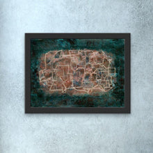 Load image into Gallery viewer, green-abstract-art-Gamma 45 Abstract Wall Art Print-Sensory Art