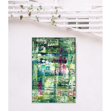 Load image into Gallery viewer, green abstract art -gamma 95, gamma95, green-Sensory Art House