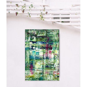 green abstract art -gamma 95, gamma95, green-Sensory Art House