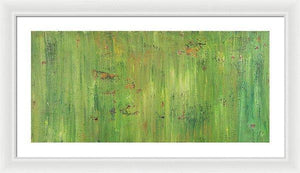 green-abstract-art-Gamma(γ) 112 Abstract Wall Art - Framed Print-Sensory Art