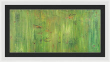 Load image into Gallery viewer, green-abstract-art-Gamma(γ) 112 Abstract Wall Art - Framed Print-Sensory Art