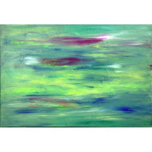 Load image into Gallery viewer, green abstract art -green, lamda 15-Sensory Art House