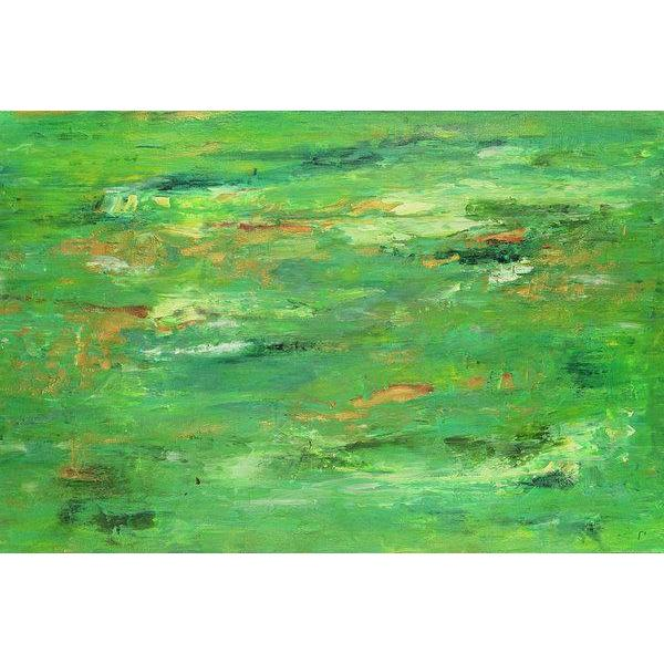 green-abstract-art-Lamda 8 Abstract - Art Print-Sensory Art