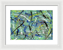 Load image into Gallery viewer, Framed Print, Iota #30 Abstract Wall Art - Framed Print,Sensory Art House