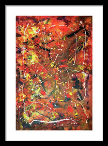 Iota 36 Abstract - Framed Print