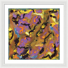 Load image into Gallery viewer, drip-abstract-Iota 39 Abstract - Framed Print-style-of-Jackson-Pollock