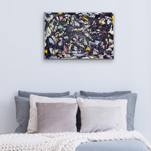 Load image into Gallery viewer, grey-gray-abstract-art-Iota 1 - Abstract Wall Art Print