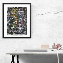 Load image into Gallery viewer, grey-gray-abstract-art-Iota 2 - Abstract Wall Art Print