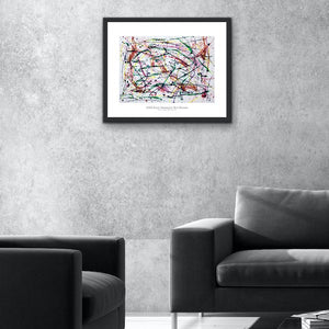Iota 28 - Abstract Wall Art Print