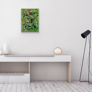 Iota #33 Abstract Wall Art - Canvas Print