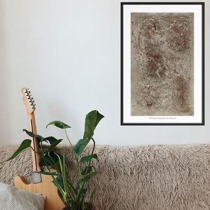 Iota 6 - Abstract Wall Art Print