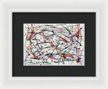 Load image into Gallery viewer, Framed Print, Iota(ι) #28  - Premium Framed Print,Sensory Art House