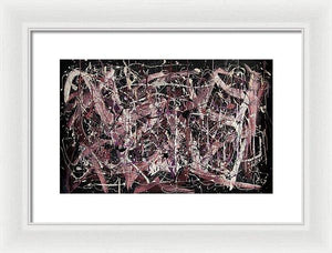 Framed Print, Iota(ι) #4 - Premium Framed Print,Sensory Art House