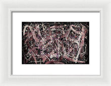 Load image into Gallery viewer, Framed Print, Iota(ι) #4 - Premium Framed Print,Sensory Art House
