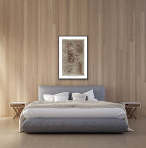 Canvas Print, Iota(ι) #6  - Abstract Wall Art - Canvas Print,Sensory Art House