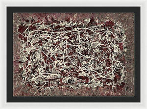 Framed Print, Iota(ι) #8  - Premium Framed Print,Sensory Art House