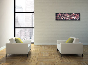 Canvas Print, Iota(ι)#21 - Abstract Wall Art - Canvas Print,Sensory Art House
